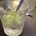 Gin and tonic jelly