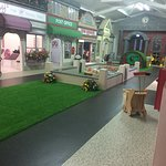 Fantastic play village to allow a child's imaginative play to  take hold. With 10 different play