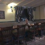 Interior of the pub.
