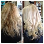Beautiful, Stylish Haircut & Highlights by Jessica!