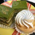 green opera and citron tarte