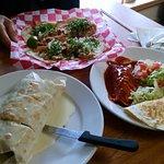 Burrito Carnitas, Tacos and Combo Dinner