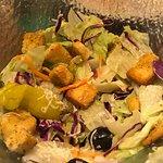 House Salad (half finished)