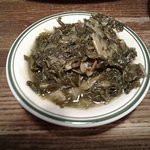 Our collard greens we didn't order. Not warm at all.