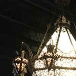 I see a lot of others used this photo of the chandelier, probably because they are so cool!