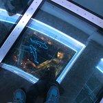 glass floor view