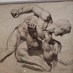 A beautiful sketch by Delacroix.
