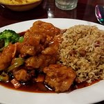 General Tso Chicken Combo