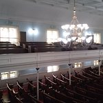 View from the upper pews