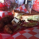 Green jacket BLT - picture doesn't do it justice
