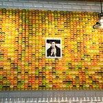 Playdoh wall