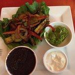 Loved the Vegetarian Fajitas, so tasty
