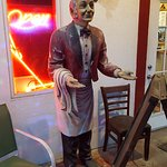 The Greeter Statue...lol