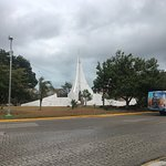 Roundabout next to the ADO terminal