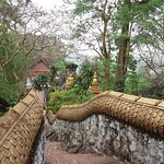 One of the dragon paths leading to the top