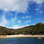 Refuge Cove from the boat.