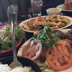 New Saigon Cashew Chicken, Garlic Beef