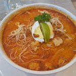 Malaysian Laksa with chicken