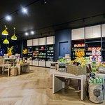 Lobby serves as M2 Store for snacks, drinks station etc