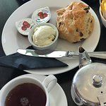 Though scones were not great, the tea was refreshing!