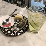 Ostrica concava & Moscow Mule