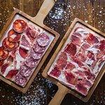 Our premium Iberican bellota sliced meats.