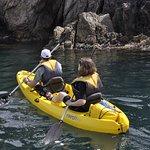 Exploring the Cap de Creus with kayak.