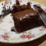 Chocolate Brownie (Half finished already :-) )