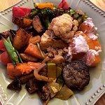 My mezze buffet plate