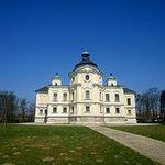 Zwiedzanie okolic Opavy - Zamek w Kravare (widok z tyłu)