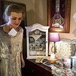 antique lace gown