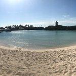 The beach at the Blue Lagoon