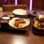 Sizzling fajitas from just £9.95