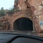 The drive into Zion was beautiful!  Park your care on one of the pull offs and explore!