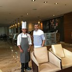 With Chef Mohit