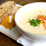Icelandic oriental fish soup