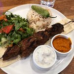 Beef Shish Lunch