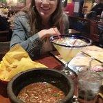 Margarita and Fresh Salsa