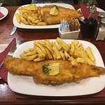 Haddock and Cod n chips!