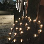Romantic lights to greet patrons