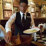 Caesar's Restaurant & Downtown Tijuana Tour: Caesar salad prepared tableside as in the 1920s!