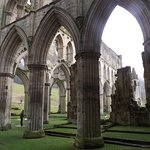 Great arches at Rievaulx Abbey
