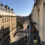 View from the room onto Jardin du Luxembourg