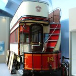 Douglas Horse Tramway car, retired from service.