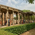 Relics of Pre-Muslim Religious Sects at Qutub Minar Complex.