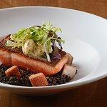 Salmon Aux Lentilles