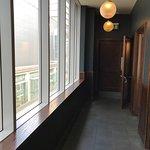 Corridor to the toilets