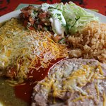 The Tamale Combo which is to die for!