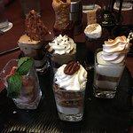 mini dessert platter!