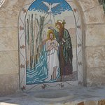 Historic Painting at  the baptism site